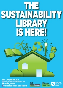 Sustainability Library is here poster-01